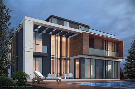 villa luxury home design houston modern villa design ecuador house ideas rear view