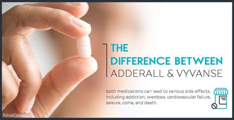 Difference Between Rehab And Detox by The Difference Between Adderall And Vyvanse