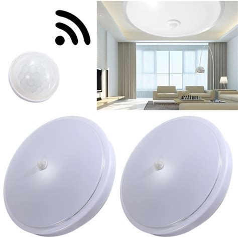 12w pir infrared motion sensor flush mounted led ceiling
