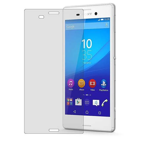 Sony Xperia M4 Screen Protector Tempered Glass sony xperia m4 aqua screen protector 9 h laminated glass laminated glass tempered glass fruugo