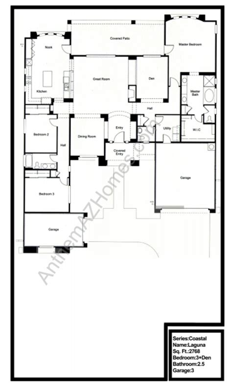 country club floor plans laguna