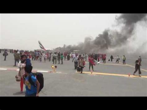 emirates flight 521 emirates flight ek 521 crash youtube