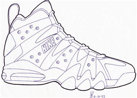 how to draw basketball shoes how to draw nike basketball shoes