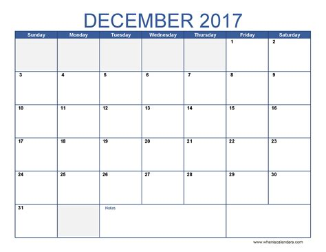 printable monthly calendar for december december 2017 calendar template blank calendar printable