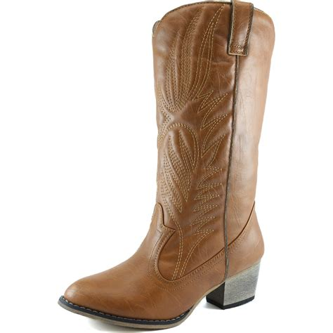 dailyshoes s embroidered legend western cowboy knee