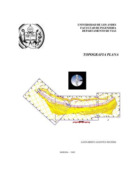 libro de topografia plana leonardo casanova pdf descargar