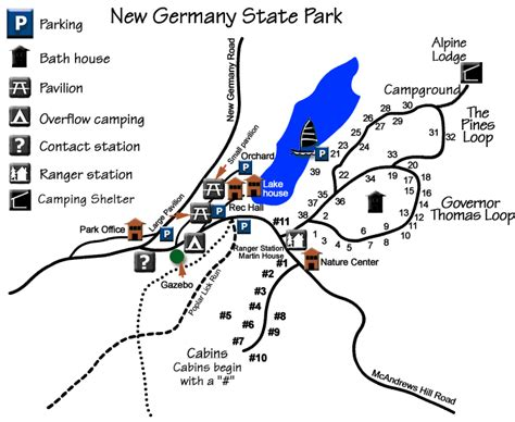 New Germany State Park Cabins by D A M N Gynr Our Family Hiking Biking Etc New