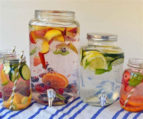 Detox With Tapping by Spa Fruit Infused Detox Water Modern Honey