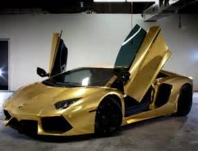 Solid Gold Lamborghini The 2013 World Luxury Expo Abu Dhabi Capelux