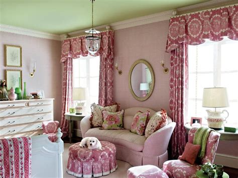 Pink And Green Rooms Hgtv Pink And Green Room