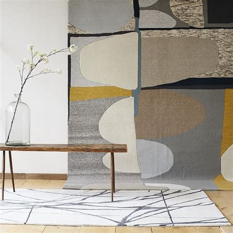 rug painting ideas for your floor based on an original painting by new york based artist christopher wynter