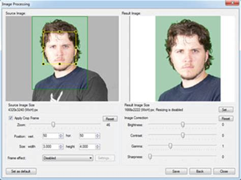 id photography software applications