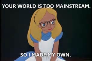 Disney Hipster Meme - disney blah blah blah