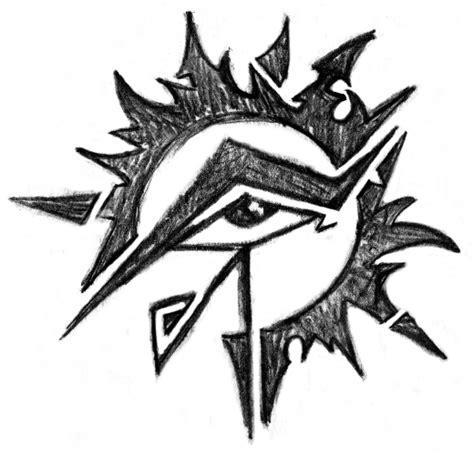 eye of horus tribal tattoo horus eye images designs
