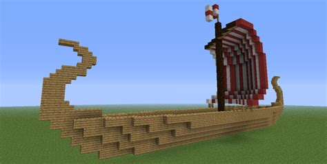 how to make a viking boat in minecraft how to build a viking ship in minecraft minecraft guides