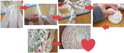 braided rag rug tutorial make your own braided no sew rag rug one thing by jillee