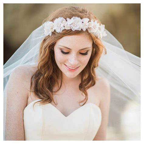 Flower Wedding Veil 17 best ideas about flower crown veil on