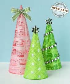 paper cone tree centerpieces christmas pinterest