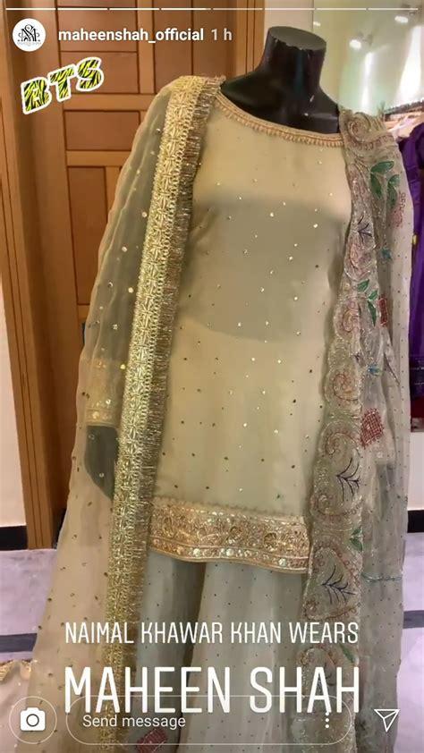 naimal khawar wears maheen shah   nikkah reviewitpk