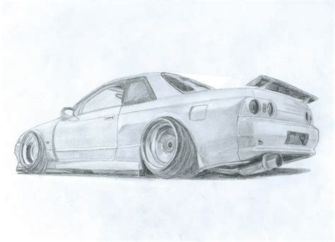 nissan skyline drawing nissan skyline gtr r32 by damon jdm on deviantart