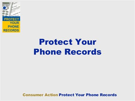 Phone Records Protect Your Phone Records