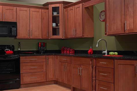 fancy and cherry kitchen cabinets decohoms