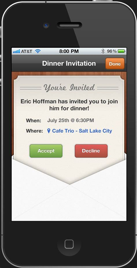 app ui ux and mobile ui on pinterest invitation app virtual ecards