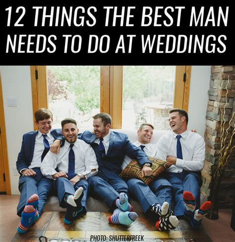 12 Things the Best Man *Needs* to Do at Weddings   http