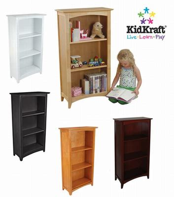 kidkraft avalon bookshelf cherry 14031 28 images 3