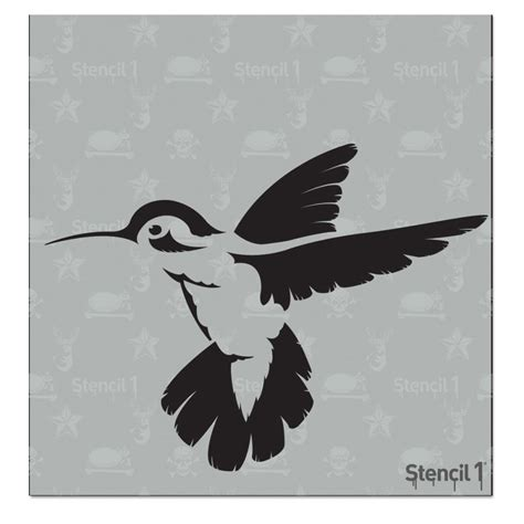 printable hummingbird stencils stencil 1 6x6 stencil hummingbird crafts pinterest