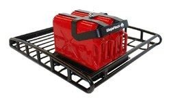 Jerry Can Holder Roof Rack by Jerry Can Holder Brackets Attach To Roof Rack