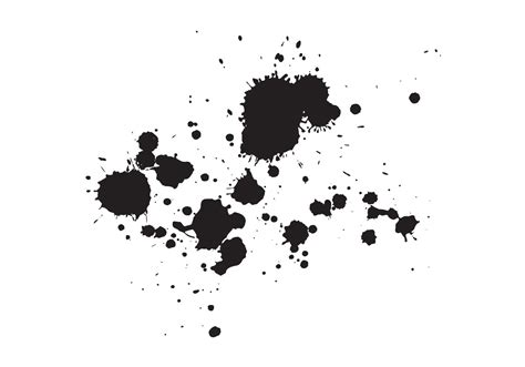 free ink splash vector