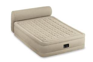Air Mattress Warranty by Intex Raised Headboard Air Bed Mattress Airbed Built In Model 64459e Ebay