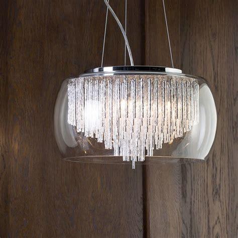 large bowl pendant light fixtures chrome glass 5 light ceiling pendant shade aluminium rods