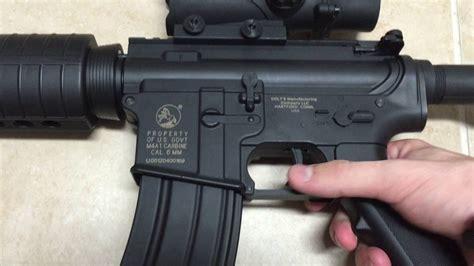 metal cybergun colt m4a1 airsoft gun overview