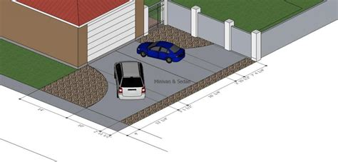 driveway dimensions check