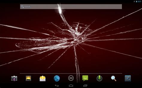 live wallpaper for mac cracked cracked screen live wallpaper android apps games on