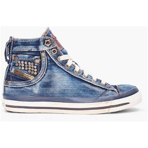 Where To Buy Cheap Home Decor Online diesel denim mid exposure sneakers even though these aren