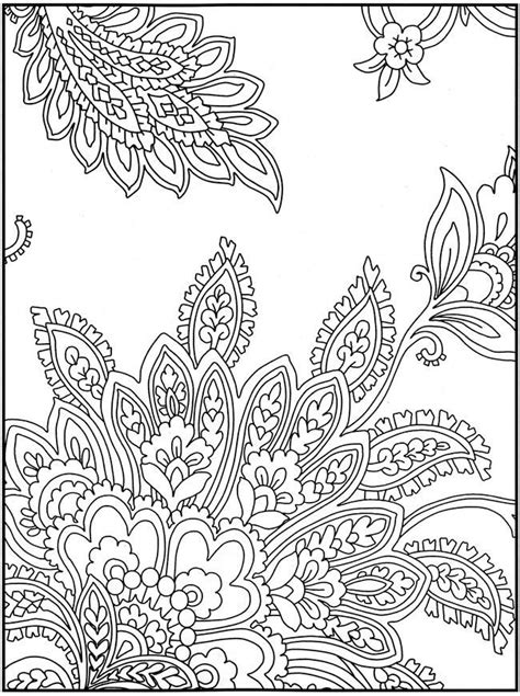 Intricate Design Coloring Pages Coloring Home Pattern Colouring In Pages
