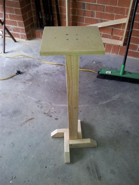 bench grinder stand  andrewr  lumberjockscom