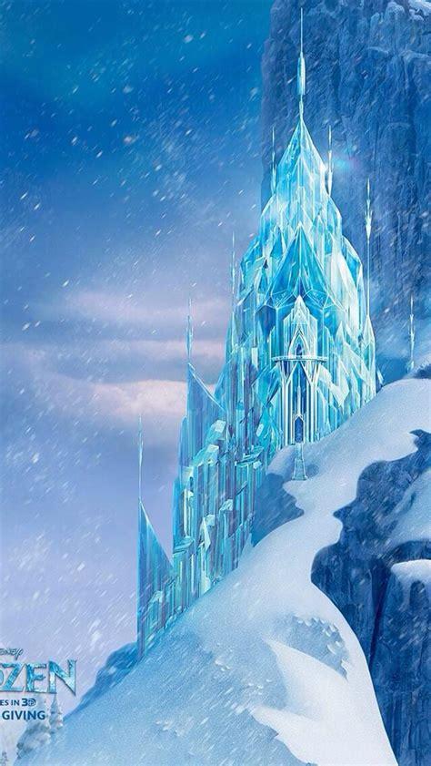 frozen castle disney iphone backgrounds frozen castle