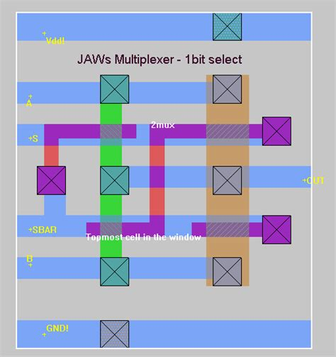 layout design of vlsi group m project status