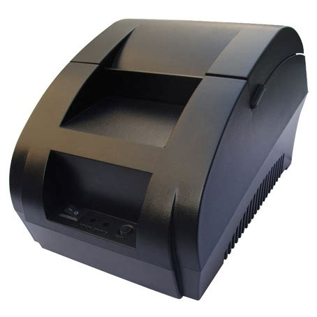 taffware pos thermal receipt printer 57 5mm zj 5890k black jakartanotebook