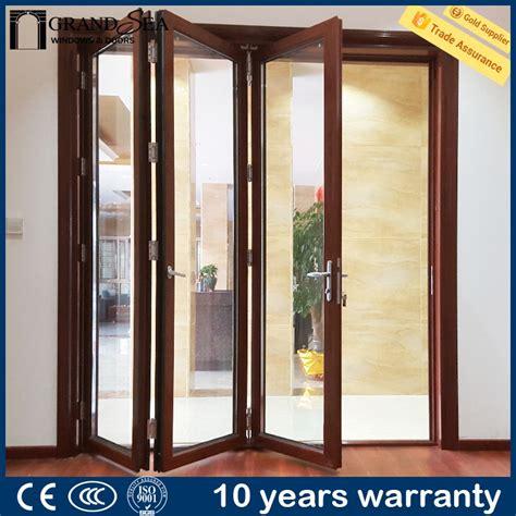 High Quality Interior Exterior Glass Aluminum Accordion Exterior Glass Accordion Doors
