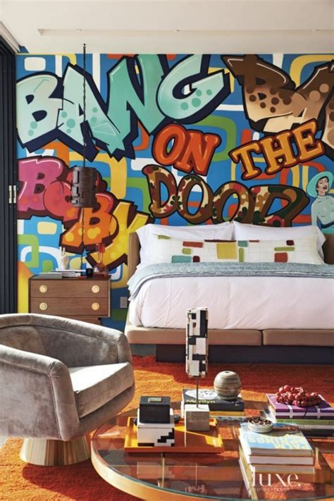 graffiti bedroom accessories 40 graffiti home decoration ideas for 2017