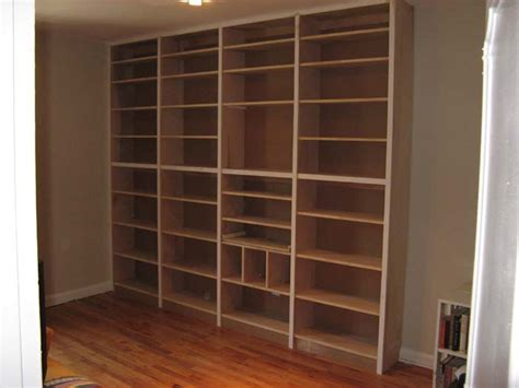 pdf diy free builtin bookcase plans free plan