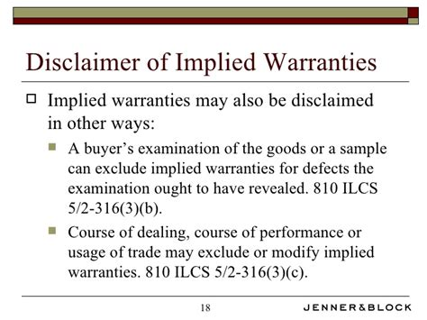 Ucc Breach Of Warranty Warranty Statement Template