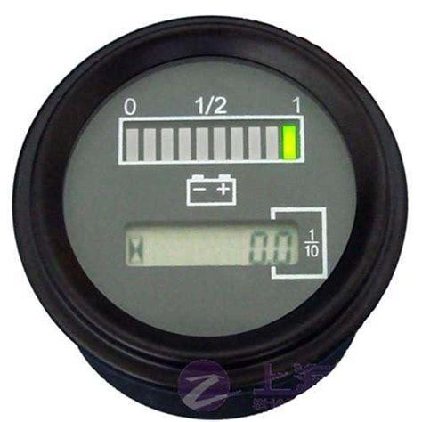 marine battery charge gauge gauges11 12 volt battery indicator hour meter gauge atv boat