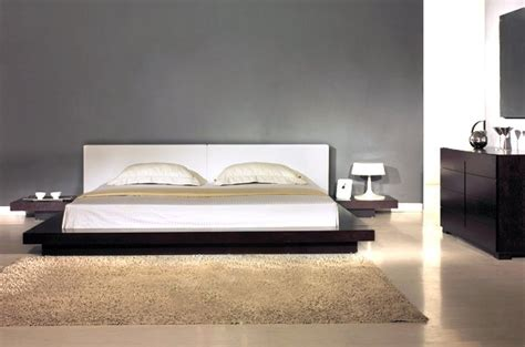 japanese style beds japanese style contemporary platform bed