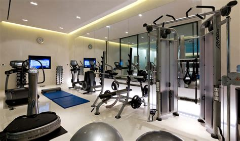 home gym lighting design private house london contemporary home gym london